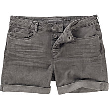 Buy Fat Face Spray Dye Shorts, Grey Online at johnlewis.com