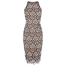 Buy Coast Ritvina Lace Shift Dress, Monochrome Online at johnlewis.com