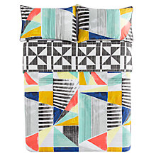 Buy Kas Geometry Bedding Online at johnlewis.com