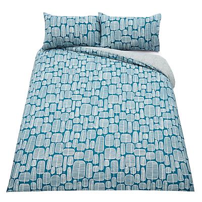 MissPrint Little Trees Duvet Cover and Pillowcase Set