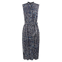 Buy Hobbs Harriete Dress, Navy/Multi Online at johnlewis.com