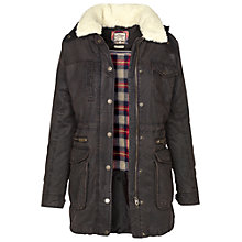 Buy Fat Face Cheshire Jacket, Chocolate Online at johnlewis.com