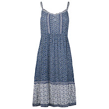 Buy Fat Face Arundel Temple Geo Dress, Navy Online at johnlewis.com