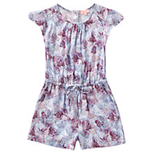 Buy Jigsaw Girls' Butterfly Playsuit, Lilac Online at johnlewis.com