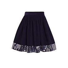 Buy John Lewis Girls' Sequin Cord Skirt Online at johnlewis.com