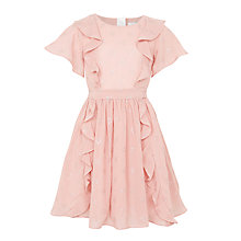 Buy John Lewis Girls' Snowflake Dress, Pink Online at johnlewis.com