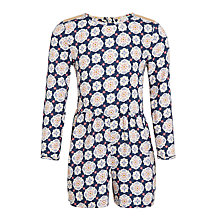 Buy John Lewis Girls' Geometric Print Playsuit, Multi Online at johnlewis.com