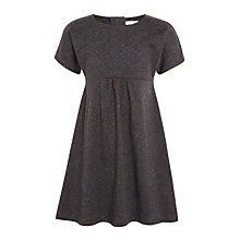 Buy John Lewis Girls' Skater Dress, Washed Black Online at johnlewis.com
