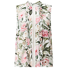 Buy Miss Selfridge Spring Pintuck Shell Top Online at johnlewis.com