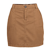 Buy Fat Face Hollie Mini Chino Skirt, Demerara Online at johnlewis.com