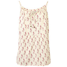 Buy Fat Face Naomi Peacok Camisole Top, Ivory Online at johnlewis.com