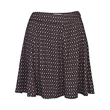 Buy Fat Face Audrey Flower Bud Skirt, Phantom Online at johnlewis.com