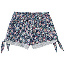 Buy Fat Face Doune Printed Shorts, Navy Online at johnlewis.com