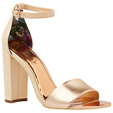Buy Ted Baker Caiye Block Heeled Sandals Online at johnlewis.com