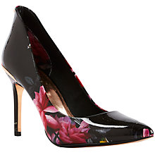 Buy Ted Baker Savei Pointed Toe Court Shoes, Citrus Bloom Print Online at johnlewis.com