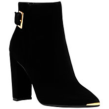 Buy Ted Baker Maryne High Block Ankle Boots, Black Online at johnlewis.com
