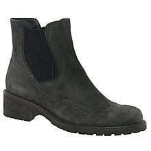 Buy Gabor Imagine Wide Block Heeled Ankle Boots Online at johnlewis.com