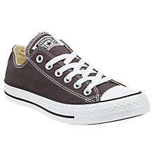 Buy Converse Chuck Taylor All Star Ox Seasonal Canvas Trainers, Dusky Grey Online at johnlewis.com