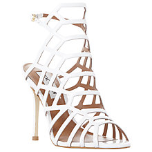 Buy Steve Madden Slithur High Heeled Cage Sandals Online at johnlewis.com