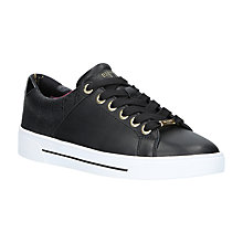 Buy Ted Baker Ophily Trainers, Black Online at johnlewis.com