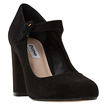 Buy Dune Amorel Mary Jane Court Shoes, Black Online at johnlewis.com