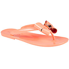 Buy Ted Baker Ettiea Bow Flip Flops Online at johnlewis.com