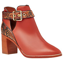 Buy Ted Baker Nissie Block Heel Ankle Boots Online at johnlewis.com