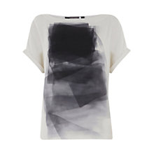Buy Mint Velvet Noella Print T-Shirt, Multi Online at johnlewis.com