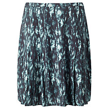 Buy Jigsaw Cyanograph Floral Skirt, Petrol Online at johnlewis.com