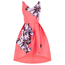 Buy Coast Athens Print Ursula Dress, Hot Pink Online at johnlewis.com