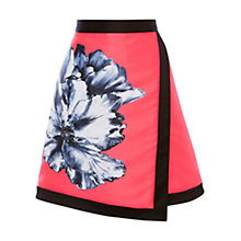 Buy Coast Athens Oversized Floral Skirt, Hot Pink Online at johnlewis.com
