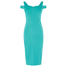 Buy Coast Suzie Glamour Shift Dress, Teal Online at johnlewis.com