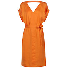 Buy Jaeger Tuck Sleeve Belted Dress Online at johnlewis.com