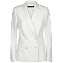 Buy Jaeger Summer Jacket, White Online at johnlewis.com