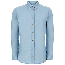 Buy Jaeger Denim Shirt, Pale Blue Online at johnlewis.com