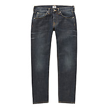 Buy Edwin ED-55 Relaxed Tapered Jeans, Mid Load Wash Online at johnlewis.com