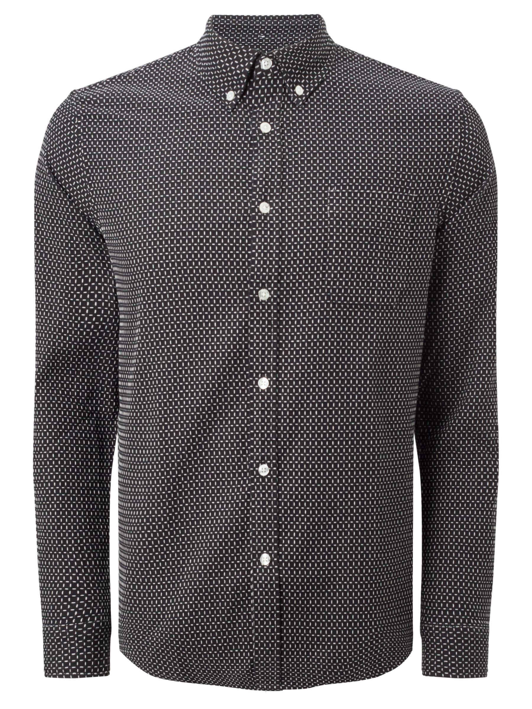 Edwin Edwin Essential Shirt, Black/White