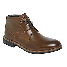 Buy Rockport Break Chukka Boots, Dark Brown Online at johnlewis.com