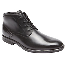 Buy Rockport Dressports Mid-Chukka Boots, Black Online at johnlewis.com