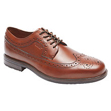 Buy Rockport Essential Details 2 Apron Toe Brogues, Tan Online at johnlewis.com