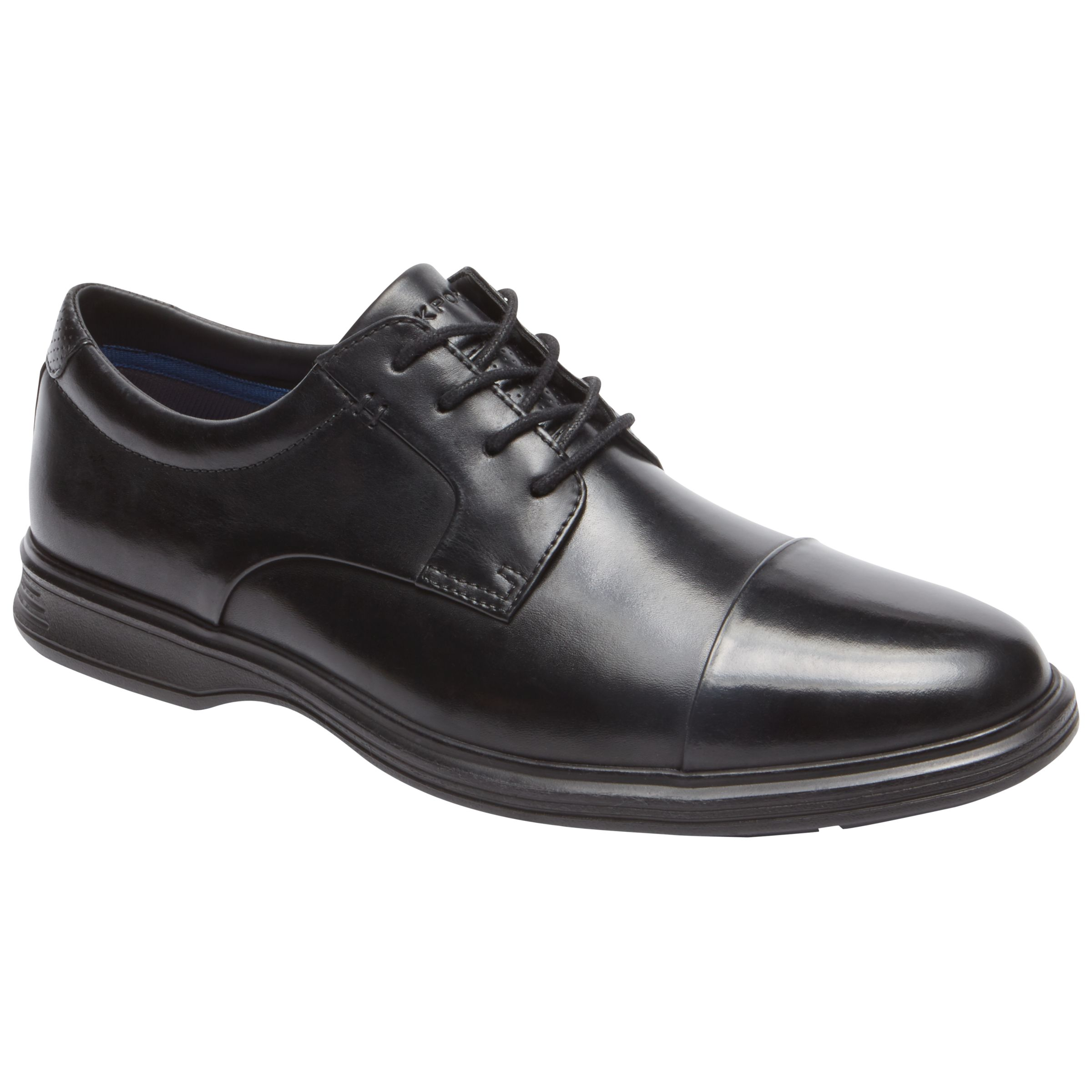 Rockport Rockport Dressports 2 Toe Cap Shoes, Black