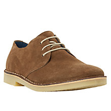 Buy Dune Burbank Suede Round Toe Desert Shoe Online at johnlewis.com
