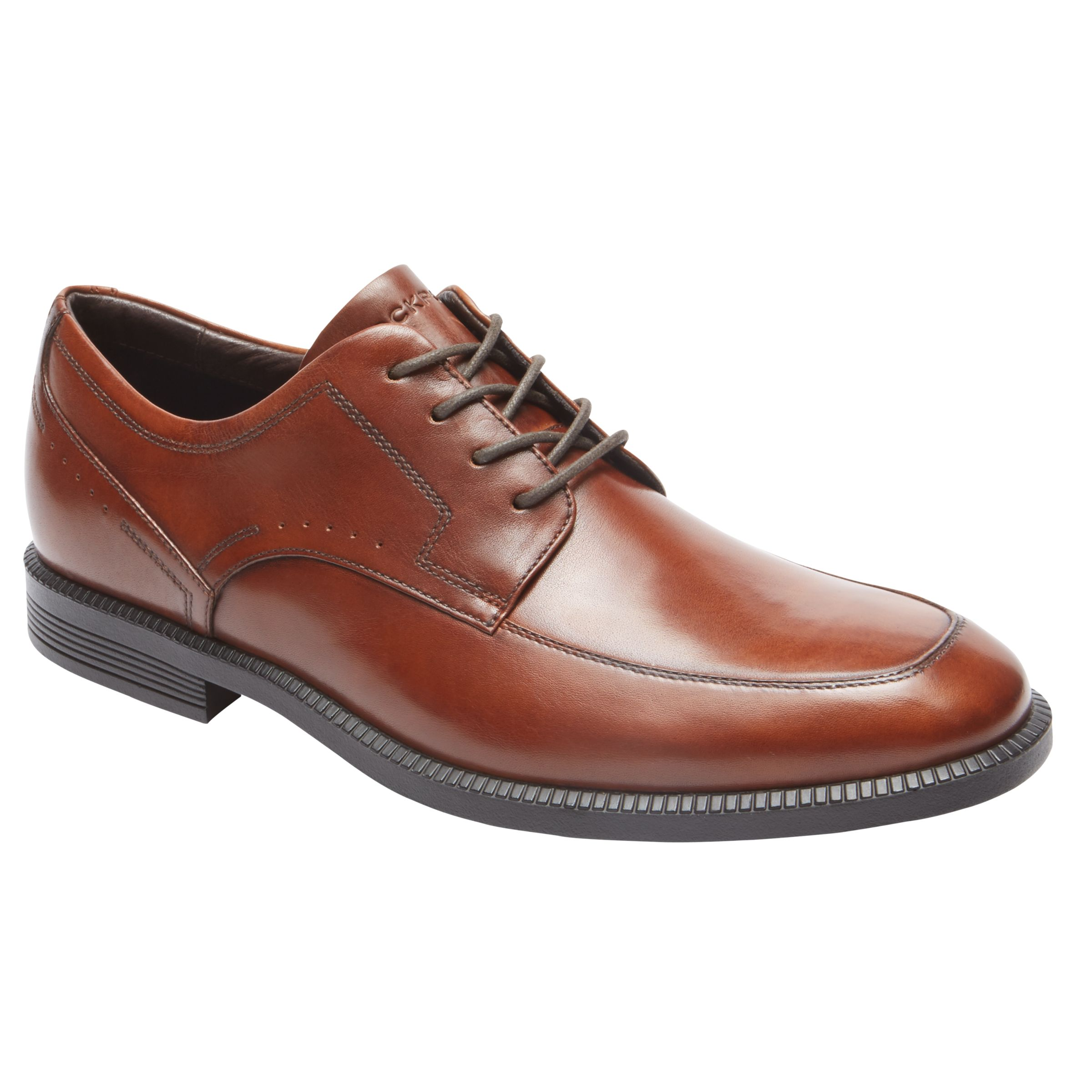 Rockport Rockport Dressports Modern Apron Toe Shoes, Brown
