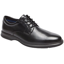 Buy Rockport Dressports 2 Plus Plain Toe Shoes, Black Online at johnlewis.com