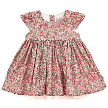 Buy Wheat Baby Christel Dress, Pink Online at johnlewis.com