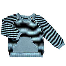 Buy Wheat Baby Arnold Knit Pullover Jumper, Blue Online at johnlewis.com