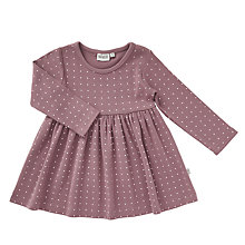 Buy Wheat Baby Frida Dress, Purple Online at johnlewis.com