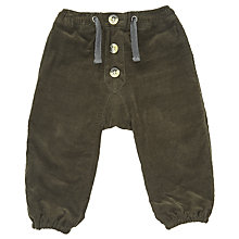 Buy Wheat Baby Andreas Trousers, Green Online at johnlewis.com