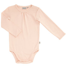 Buy Wheat Baby Long Sleeve Bodysuit Online at johnlewis.com