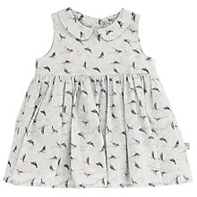Buy Wheat Baby Eila Bird Print Dress, Blue Online at johnlewis.com